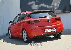 Nil Duplex Exhaust System Stainless Steel Vauxhall Astra K 5-Türer 1.4l 1.6l