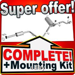 OPEL ASTRA J 1.4 T 120/140HP Hatchback/GTC +CHROME Exhaust System 7A1