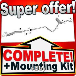 OPEL ASTRA J 1.4 T Hatchback/GTC +front/centre pipe Silencer Exhaust System 7A4