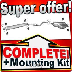 Opel/Vauxhall Astra H 1.6 1.8 Kombi Silencer Exhaust System N26