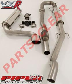 Piper Back Performance Exhaust Full 3 Non Res Performance For Astra Vxr 2.0t