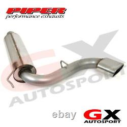Piper Exhausts CAST15A/R VAUXHALL ASTRA MK5 VXR 2.0 REAR SECTION WithSilencer