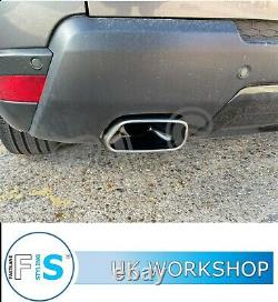 Range Rover Stainless Steel Dual Backbox Delete Custom Exhaust Supply And Fit