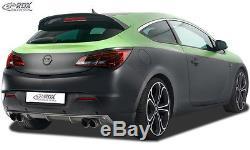 Rdx Vauxhall Astra Mk6 Gtc 09- Rear Bumper Lip (dual Exhaust)