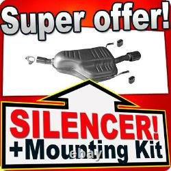 Rear Silencer for Opel/Vauxhall Astra H 1.6 1.8 16V 03.2004-12.2011 Exhaust Box