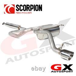 SVX034D Scorpion Exhausts Vauxhall Astra GTC 1.4 Turbo 2009-2015 Res CatBack