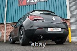 SVXS034 Scorpion Exhausts Vauxhall Astra GTC 1.4 Turbo 2009-2015 NonRes CatBack