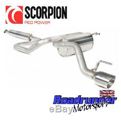 Scorpion Exhaust Astra J GTC 1.4T Secondary Cat Back Resonated Daytona SVX034D