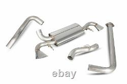 Scorpion Non-Res Cat Back Exhaust for Vauxhall Astra J VXR (12-18)