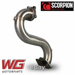 Scorpion Turbo Decat Downpipe for Vauxhall Opel Astra J MK6 GTC VXR 2.0T Models
