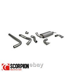 Scorpion Vauxhall Astra J VXR 3 Non-Resonated Cat Back Exhaust SVXS057
