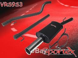 Sportex Vauxhall Astra coupe mk4 race tube performance exhaust system 2003-2005