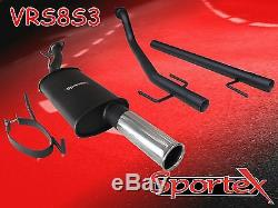 Sportex Vauxhall Astra mk4 coupe performance exhaust system 2000-2004