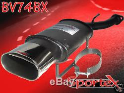 Sportex Vauxhall Astra mk4 hatch performance back box