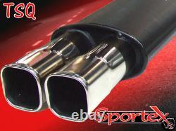 Sportex Vauxhall Astra mk5 CDTi performance back box
