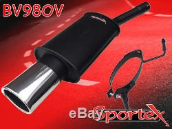 Sportex Vauxhall Astra mk5 performance exhaust back box 1.9CDTi 2005- S3