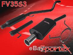 Sportex Vauxhall Astra mk5 performance exhaust system