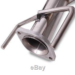 Stainless Steel Catback Exhaust System For Vauxhall Opel Astra H Vxr 2.0 Turbo