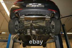 Stainless Steel Duplex Exhaust Vauxhall Astra K 1.6 Turbo Per 3 15/16in Round