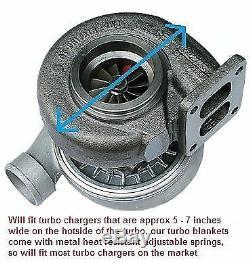 Titanium Exhaust Headers Wrap Tape Heat Shield And Turbo Blanket 15m Insulating
