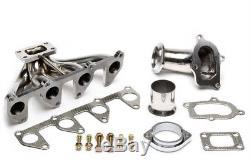 Turbo Exhaust Conversion Manifold kit Fit Vauxhall C20NE C20ZE T25 Astra Corsa S