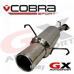 VA12 cobra Vauxhall Astra G Hatchback 98-04 Rear Box only fits flange fitment