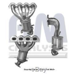 VAUXHALL ASTRA H 1.6 Catalytic Converter Type Approved Front 04 to 11 Z16XER BM
