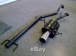 VAUXHALL ASTRA VAN Mk4 2.0DTi & 2.0TDi SPORTS EXHAUST SYSTEM 98-2005 ASTRA G