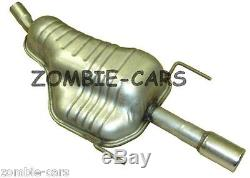 VAUXHALL OPEL ASTRA H Cabriolet 1.6,1.8 TWINTOP EXHAUST REAR SILENCER 2 YEAR GT