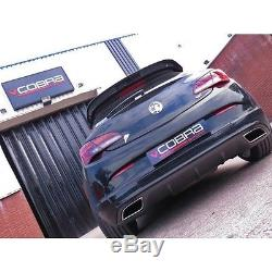 VX23 Cobra Sport Vauxhall Astra J VXR 12 Cat Back Exhaust Non Resonated