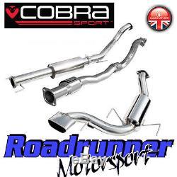 VZ07a Cobra Astra VXR MK5 3 Turbo Back Exhaust System Resonated & Sports Cat