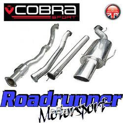 VZ10b Cobra Astra Coupe 2.0 MK4 3 Turbo Back Exhaust System NonRes & Sports Cat