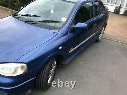 Vauxhall Astra 1.8 Irmscher (Standard Exhaust) 2001 88k miles 6m MOT