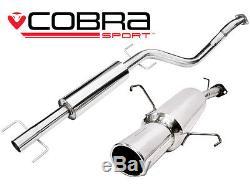 Vauxhall Astra Coupe Cobra Sport Performance Exhaust (Resonated) (VA17)