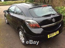 Vauxhall Astra Design 3 Door 2009 59reg Spares Or Repair No Mot Exhaust Noisy