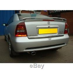 Vauxhall Astra G (Coupe) Resonated Cat Back Cobra Sport Exhaust VA17