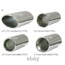 Vauxhall Astra G GSi/T (Hatch) Non-Resonated Cat Back Cobra Sport Exhaust VZ04h