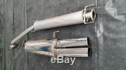 Vauxhall Astra G Mk4 Coupe Irmscher Exhaust and Hoffman Middle Section
