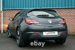 Vauxhall Astra GTC 1.4 Turbo Scorpion Resonated cat-back system Exhaust 09-15
