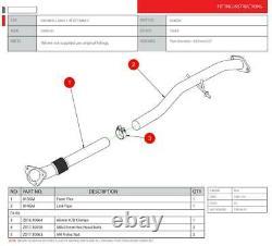 Vauxhall Astra GTC 1.4 Turbo Secondary De-cat section SVX035 Scorpion Exhaust