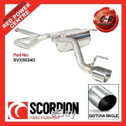 Vauxhall Astra GTC 1.4T 09on Scorpion 2nd Catback NonRes 100mm Daytona SVXS034D
