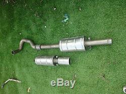 Vauxhall Astra GTE 16V C20let Full S/S 3 Exhaust System