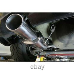 Vauxhall Astra H 1.9 CDTI Resonated Cat Back Cobra Sport Exhaust VX79