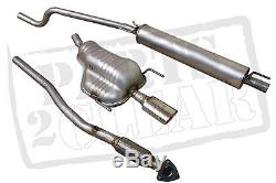 Vauxhall Astra H Mk5 1.6 1.8 2006- Front Centre Rear Exhaust Pipe System