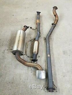 Vauxhall Astra H Mk5 Vxr Milltek Exhaust & Toyosport De-cat Msvx2227 Msvx2209r