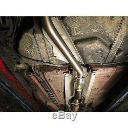 Vauxhall Astra H VXR (3) Turbo-Back Cobra Sport Exhaust (Res-No Cat) (VZ07c)