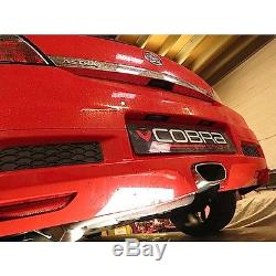 Vauxhall Astra H VXR 3 Turbo-Back Cobra Sport Exhaust (With Res & Cat) (VZ07a)