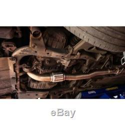 Vauxhall Astra H VXR Turbo Back Exhaust (De-Cat/Non-Resonated) Cobra Sport VZ07d