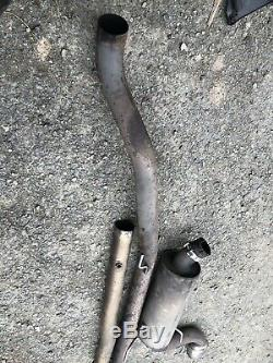Vauxhall Astra H Vxr EP Custom Decat Pipe & Scorpion Cat Back Exhaust System 3