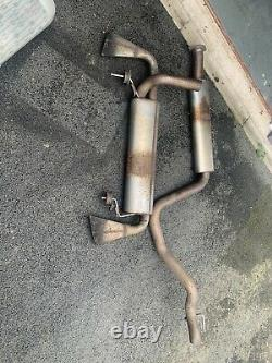 Vauxhall Astra J Gtc Vxr Standard Exhaust System Centre Middle Rear Back Box
